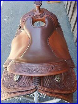 Custom Reining Saddle