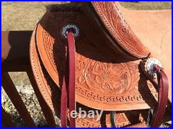 Custom Wade Ranch Saddle
