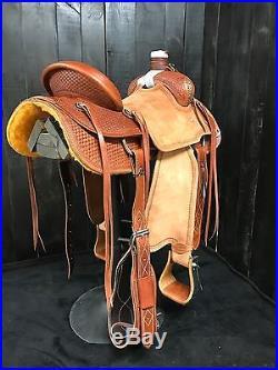 Custom Will James Saddle Ranch/Roping/Training/Trail/Wade/Association