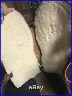 Dakota Saddlery Western Barrel Saddle 15 Inch SQHB