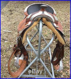 Dale Chavez Equitation 6 Plate Western Show Saddle
