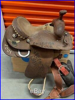 Dale Martin United States Team Roping Championship 15 Saddle