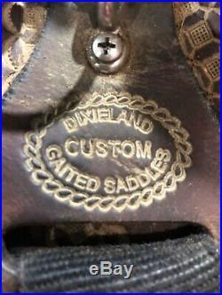 Dixieland 16 gaited horse trail saddle