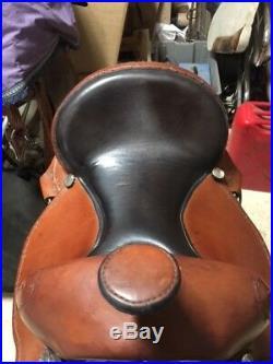 Dixieland Custom Gaited Saddle 14 1/2 Seat
