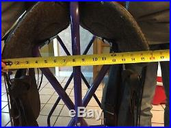 Dixieland Custom made 16 seat Gaited Saddle