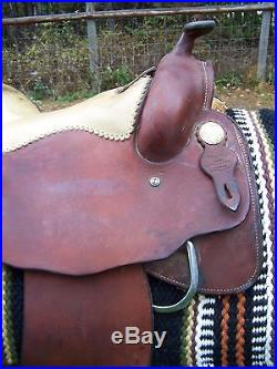 Dorie Reese Pleasure Training Saddle Quarter Horse Bars 16