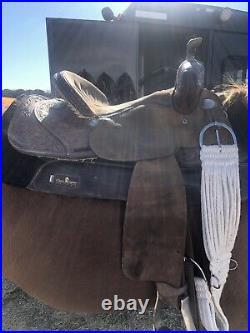 Double J Lynn Mckenzie Barrel Saddle