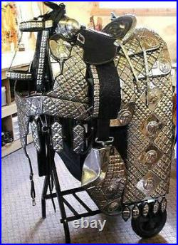 Fabulous Silver Parade Saddle, Ted Flowers Ranch Horse Saddle 16 All Sizes