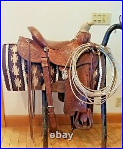 Fallis Saddlery 15Balanced Ride Custom Western Saddle Cowboy Up it does it all