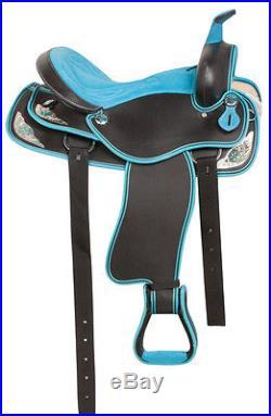 Gaited 15 16 17 18 Western Barrel Racing Pleasure Trail Horse Saddle Tack Pad
