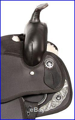 Gaited 15 16 Western Pleasure Trail Endurance Horse Saddle Tack Set Comfy