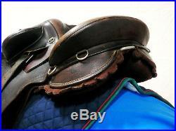 Genuine SYD HILL Station Poley Australian Stock Saddle with Surcingle & Stirrups