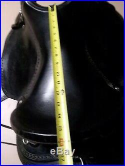 HENRY MILLER ENDURANCE SADDLE 15 inch