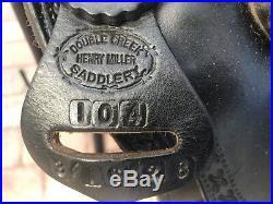 Henry Miller trail western saddle