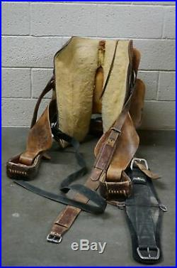 Hereford Brand Tex Tan of Yoakum, 16in Roping Saddle with Light Tooling