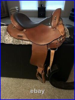 Hereford TexTan Flex Endurance Saddle