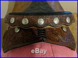 Hereford Tex Tan Pro barrel racing saddle- 14.5 seat- very nice