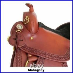 Imus 4-Beat Gaited Trail Saddle Unique Comfort Features for your horse