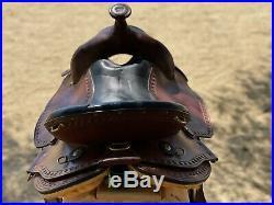 Imus 4beats 16 gaited saddle