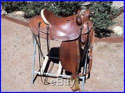 Jeremiah Watt Custom Wade Saddle, 16
