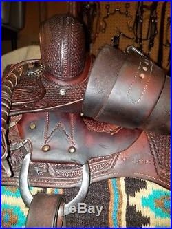 Kyle Tack Cutting Cowhorse Saddle 15 3/4