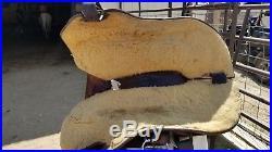 Lady wade, mccall, 15 seat, used, cowgirl saddle, roping saddle