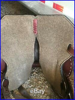 Marlene McRae Barrel saddle 15 in Flex tree Very Few Rides Was $2500.00 New