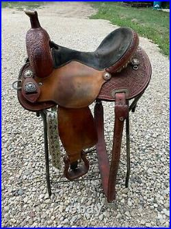 Marlene McRae flex tree barrel saddle