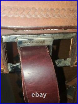 Martin Chestnut Header Saddle 14.5in