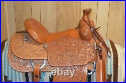 Martin Saddlery Roping Ranch Western Saddle 15 inch