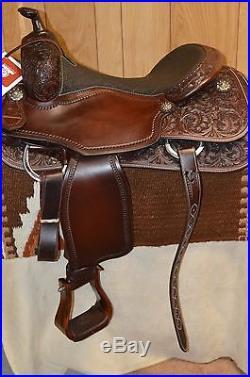 Martin Saddlery Western Reining Saddle 16 inch