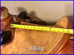 McCall Lady Wade Ranch Saddle 15 inch
