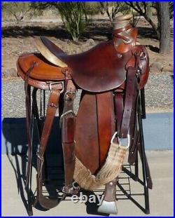 McCall Northwest Wade Saddle 15.5