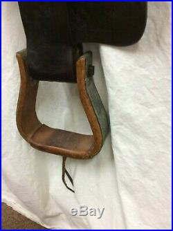 Miles City 14 Collector/Vintage Western Saddle #404 spring sale special price