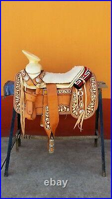 Montura charra mexican Charro saddle pitiada