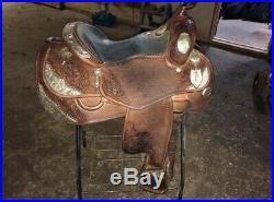 Moran Western Show Saddle