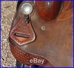 Mtn Mountain Saddlery Barrel Saddle 15