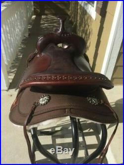 NEW Circle Y 17 High Horse Willow Springs Cordura Trail Saddle