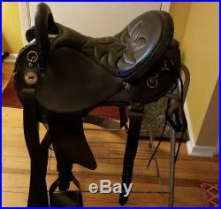 National Bridle Endurance Saddle 16