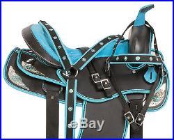 New 14 15 16 17 18 Pleasure Trail Barrel Racing Western Horse Saddle Pad Tack