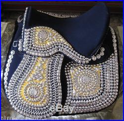 New Egyptian Imperial Handmade Decorated Arabian Saddle