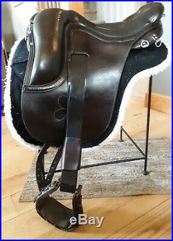 Ortho Flex Cutback Endurance Saddle 17.5, 15.5 Western, Nunn Finer Breast Plate