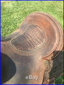 PRICE REDUCED Used 14 Martin Crown C barrel saddle