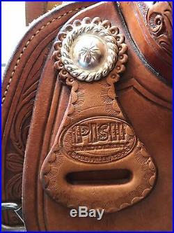 Pish 16 Western Reining Saddle