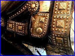 RARE Holtz Saddle Company Silver Parade Saddle & Breastplate Western Tack