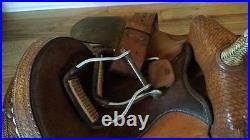 RS Saddlery 14 1/2 inch Saddle- Western Saddle
