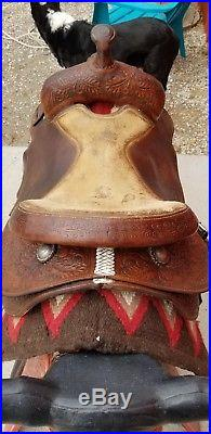 Ray Blair Cutting Saddle free shipping! Revised description