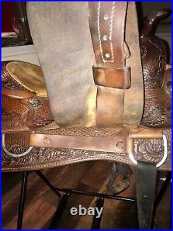 Reining Saddle 16 FQHB