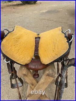 Reinsman Western Horse Saddle