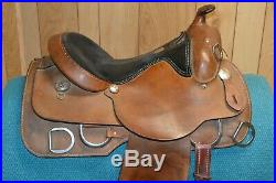 Rocking R Work or Training Western Saddle 15.5 inch seat